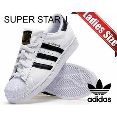 【アディダス スニーカー スーパースター レディースサイズ】adidas SUPER STAR J ftwwht/cblk/ftwwht 【アディダス SS ウィメ