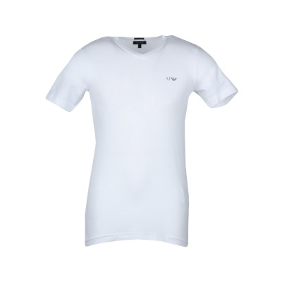 アルマーニ ジーンズ ARMANI JEANS T シャツ ホワイト XS コットン 96% / ポリウレタン 4% T シャツ