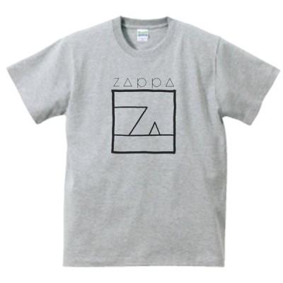 FRANK ZAPPA 音楽・ロック・シネマ Tシャツ グレー