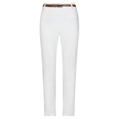 NO-NÀ パンツ ホワイト S ポリエステル 89% / ポリウレタン 11% パンツ