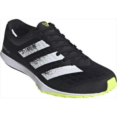 [adidas]アディダス メンズ ランニングシューズ ADIZERO BEKOJI 2 M (FW2200)コアブラック/フットウェアホワイト/ソーラーイエロー[取寄商品]