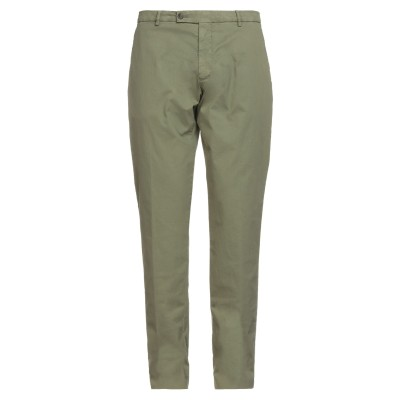 ベルウィッチ BERWICH パンツ ミリタリーグリーン 54 コットン 98% / ポリウレタン 2% パンツ