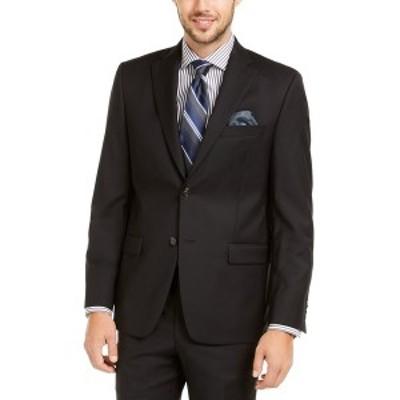 ラルフローレン メンズ ジャケット&ブルゾン アウター Men's Slim-Fit UltraFlex Stretch Black Solid Suit Jacket Black