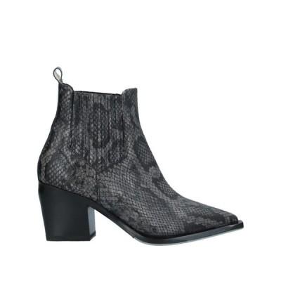 LAURA BELLARIVA ショートブーツ ファッション  レディースファッション  レディースシューズ  ブーツ  その他ブーツ 鉛色