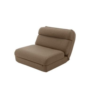 セルタン 日本製 3WAYコンパクト座椅子/A908a-640BR ダリアンブラウン/1人掛け