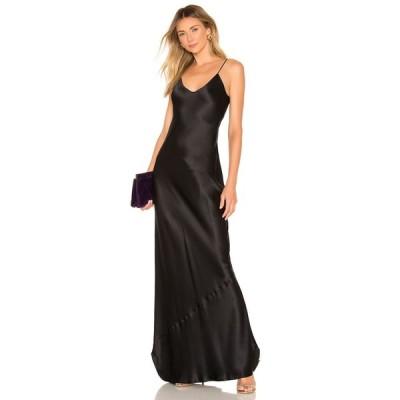 ニリ ロータン NILI LOTAN レディース パーティードレス ワンピース・ドレス cami gown nili lotan Black
