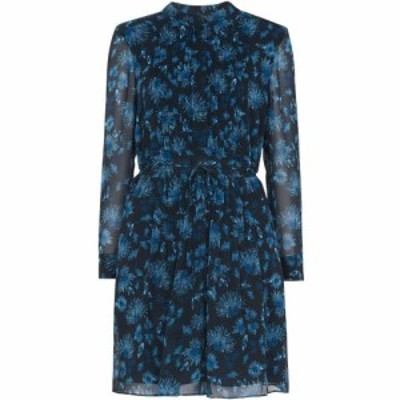 ホイッスルズ Whistles レディース ワンピース シャツワンピース ワンピース・ドレス Pitti Print Shirt Dress Blue
