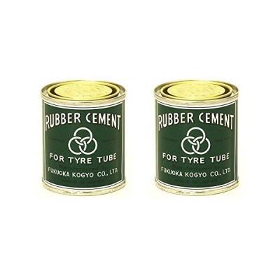 福岡工業 ミツワ ラバーセメント 小缶ゴムのり 90ml 415-00001 (2個)