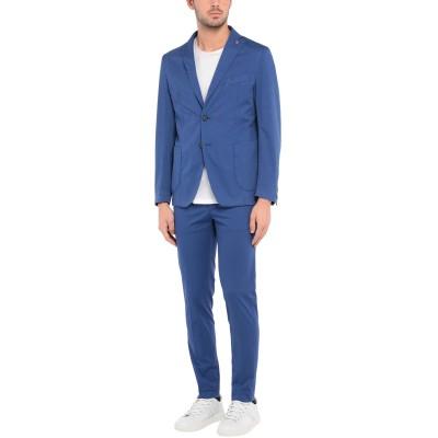 JERRY KEY スーツ ブルー 52 コットン 97% / ポリウレタン 3% スーツ