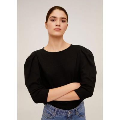 Tシャツ .-- PLIS (ブラック)