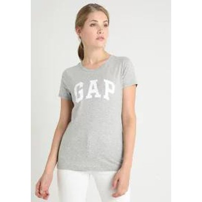 GAP レディーストップス GAP TEE - Print T-shirt - grey heather grey hea