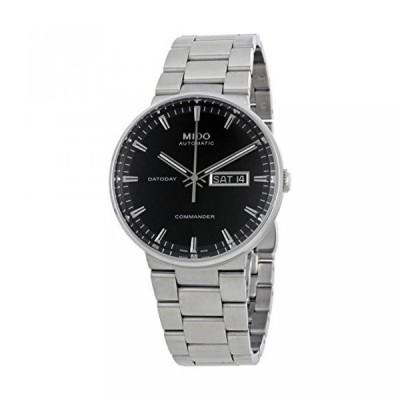 ミドー 腕時計 メンズウォッチ Mido Commander II Automatic Black Dial Mens Watch M014.430.11.051.80