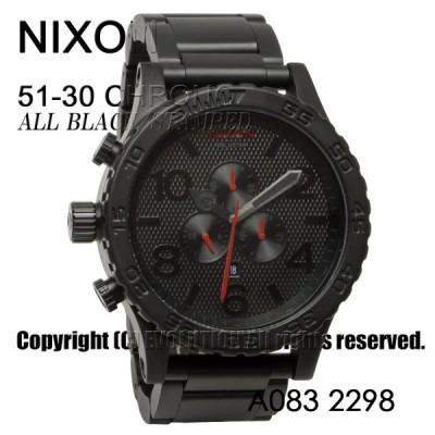 [ニクソン] NIXON 腕時計 51-30 CHRONO: ALL BLACK/STAMPED A083-2298-00 メンズ [並行輸入品]