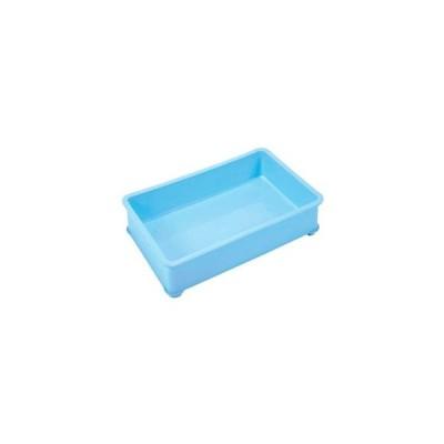 EBM PPカラー番重 B型 小 ブルー サンコー製 4837010