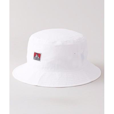 LB/S / 【BEN DAVIS/ベンデイビ)】ウオッシャブルハット バケットハット ワンポイントブランドロゴ MEN 帽子 > ハット
