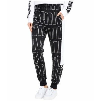 プーマ カジュアルパンツ ボトムス レディース All Over Print Track Pants PUMA Black