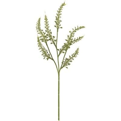 人工観葉植物 ウィード 全長40cm 4本セット 造花 人工樹木 花材 リーフ アレンジ