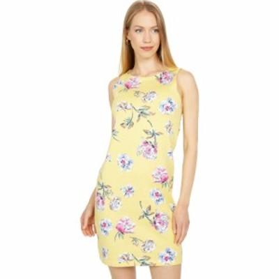ジュールズ Joules レディース ワンピース ノースリーブ ワンピース・ドレス Sleeveless Jersey Dress Lemon Floral