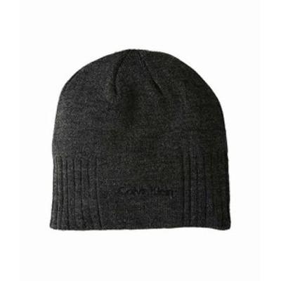 カルバンクライン メンズ ハット キャップ 帽子 New Rib Beanie