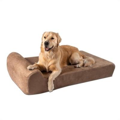 """Big Barker ビッグブレイカー ペットグッズ 犬用品 ベッド・マット・カバー ベッド 7"""" Orthopedic Dog Bed - Headrest Edition"""
