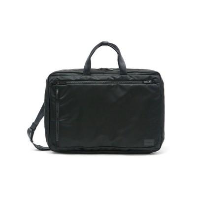 【ギャレリア】 吉田カバン ポーター ビジネスバッグ PORTER EVO 3WAY BRIEFCASE 1層 A4 B4 通勤 出張 メンズ レディース 534-05268 ユニセックス ブラック F GALLERIA