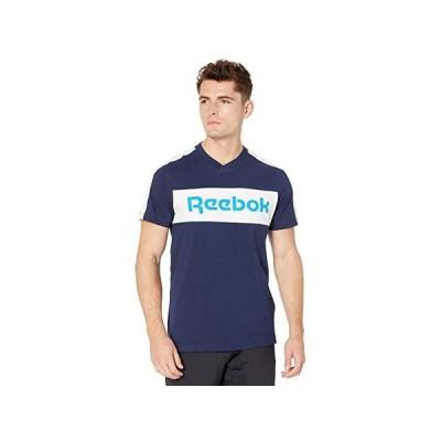 リーボック Training Essentials Logo Short Sleeve Graphic Tee メンズ シャツ トップス Vector Navy