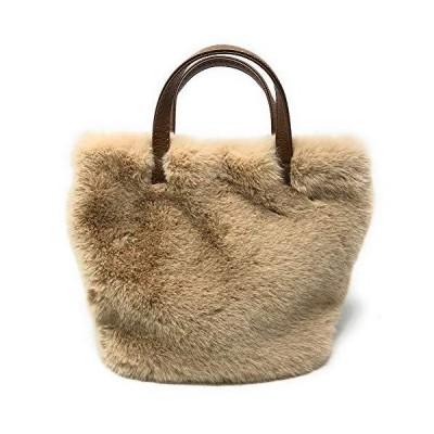Lawevan レディース ふわふわ 可愛い風 カジュアル 小さい トートバッグ 軽量 小物入れ デート向け ハンドバッグ