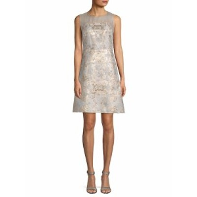 エリータハリ レディース ワンピース Floral Brocade A-Line Dress