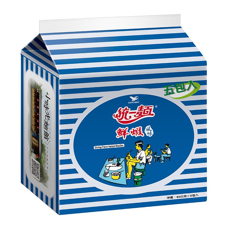 統一鮮蝦麵(包) 83g