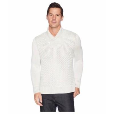 Calvin Klein カルバンクライン 服 スウェット Plaited Texture Shawl Neck Sweater