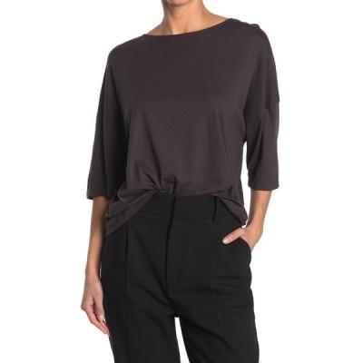 バッシュ レディース Tシャツ トップス Sabe Cutout Shirt GREY