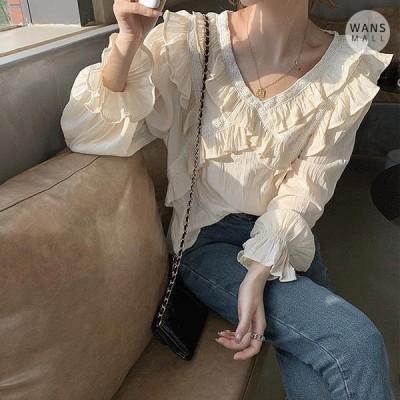 レディース ブラウス bl2207 ropple frill blouse