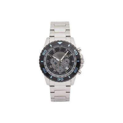 シチズン 腕時計 Citizen AN8030-58F シルバー トーン ダイヤル ステンレス クロノグラフ メンズ 腕時計