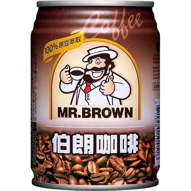 伯朗咖啡原味Can240ml