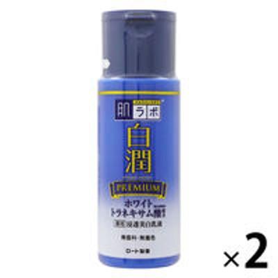 ロート製薬肌ラボ 白潤 プレミアム薬用浸透美白乳液 140mL ×2個 ロート製薬