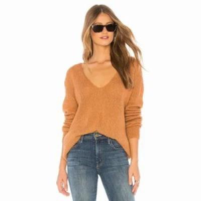 フリーピープル ニット・セーター Gossamer Sweater Terracotta
