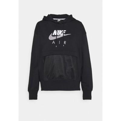 ナイキ パーカー・スウェットシャツ レディース アウター AIR HOODIE - Sweatshirt - black/white