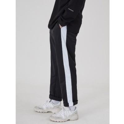 パンツ 『ACOVER/オコボ』JERSEY LINE TRACK PANTS/ライン柄 トラックパンツ ジャージパンツ