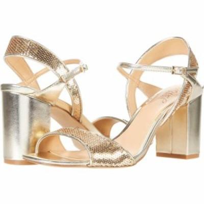 バッジェリー ミシュカ Jewel Badgley Mischka レディース サンダル・ミュール シューズ・靴 Irma Light Gold