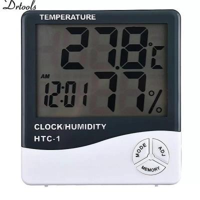 湿度 Mete 液晶デジタル HTC-1 温度楽器温度計湿度計温湿度計時計 GT056