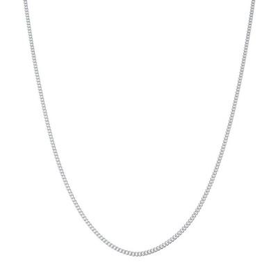 ネックレス メンズ チェーン ブランド シルバー 925 シンプル 細め blackdia シルバー 喜平 チェーン ネックレス 幅2.2mm 長さ50cm/60cm
