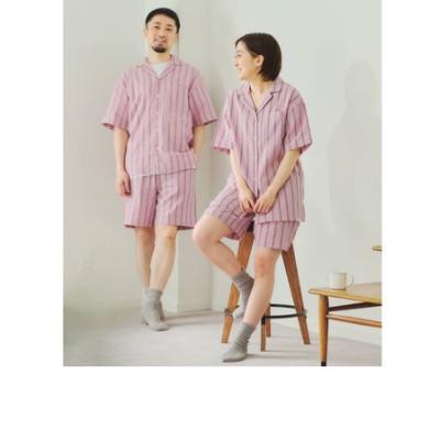 ★★ [ Livelihood (ライブリフッド) ]  ROOMWEAR ガーゼ ショートスリーブ パジャマ