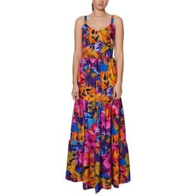 ランドリーバイシェリーシーガル ワンピース トップス レディース Laundry by Shelli Segal Tiered Maxi Dress multicolor
