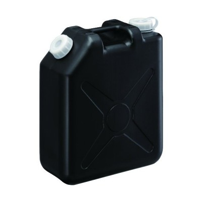 瑞穂 扁平缶20Lブラックノズルなし (1個) 品番:0207BK