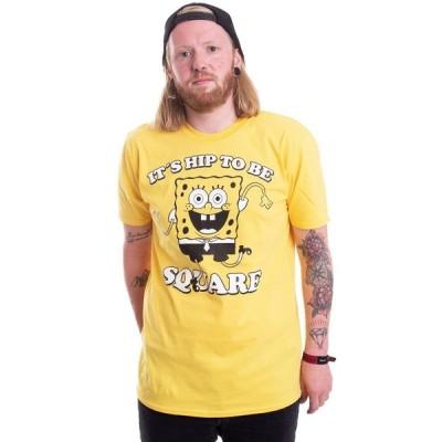 インペリコン Impericon メンズ Tシャツ トップス - Hip To Be Square Yellow - T-Shirt yellow