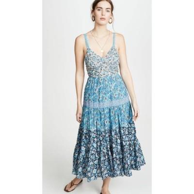 レベッカ テイラー La Vie Rebecca Taylor レディース ワンピース ノースリーブ ワンピース・ドレス Sleeveless Print Mix Dress Multi Combo