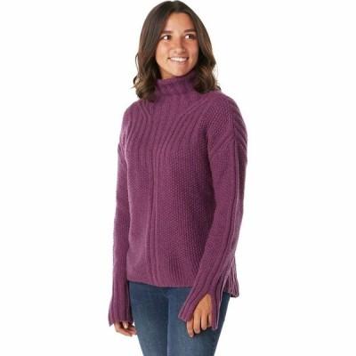 (取寄)スマートウール レディース スプルース クリーク セーター Smartwool Women Spruce Creek Sweater Sangria Heather