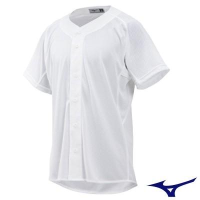 ミズノ 野球ユニフォーム 練習用シャツ (メッシュ・オープンタイプ) 12JC8F6801