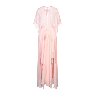 シルビアンヒーチ SILVIAN HEACH ロングワンピース&ドレス ピンク XS ポリエステル 100% ロングワンピース&ドレス