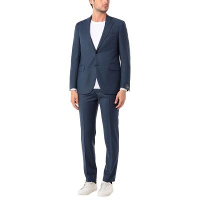 TOMBOLINI スーツ ブルー 48 バージンウール 99% / ポリウレタン 1% スーツ